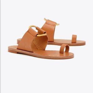 Tory Burch Ravello Sandals - Tan size 8